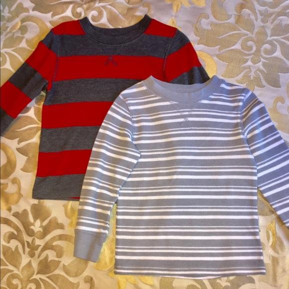 d740575480 Cat & Jack Shirts & Tops | Bundle Of 2 Cat Jack Thermal Long Sleeve ...